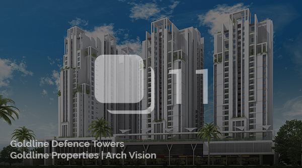 Architectural Visualization for a Goldline Defence Towers
