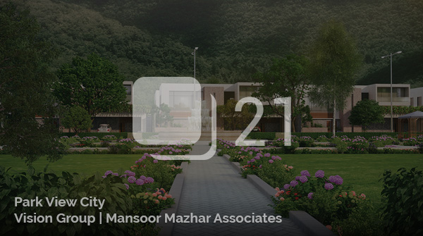 Architectural Visualization for a Park View City - Islamabad