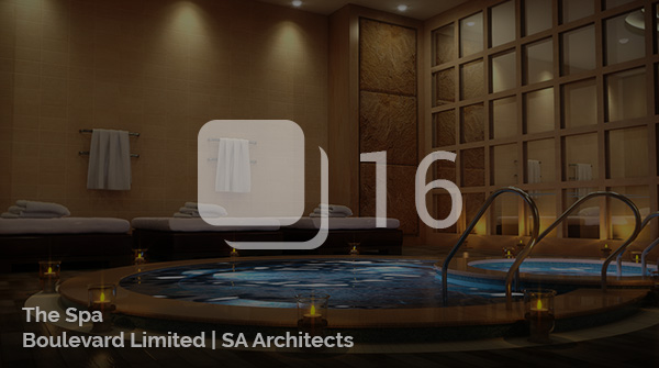 Architectural Visualization for The Spa